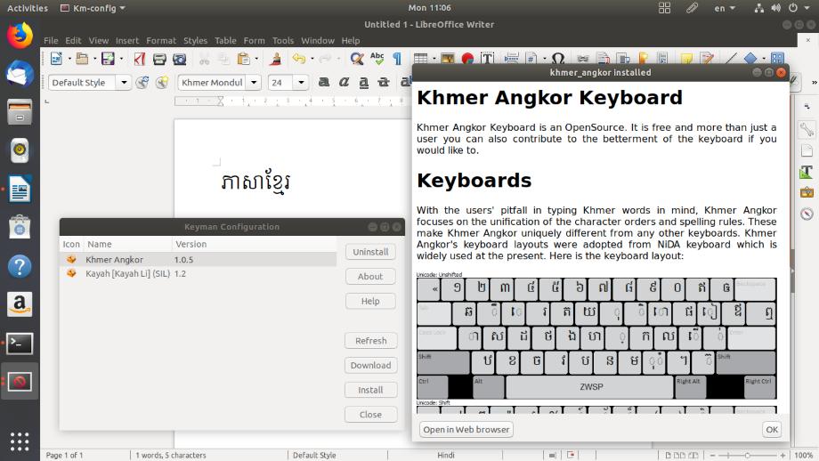Keyman 11 0 for Linux