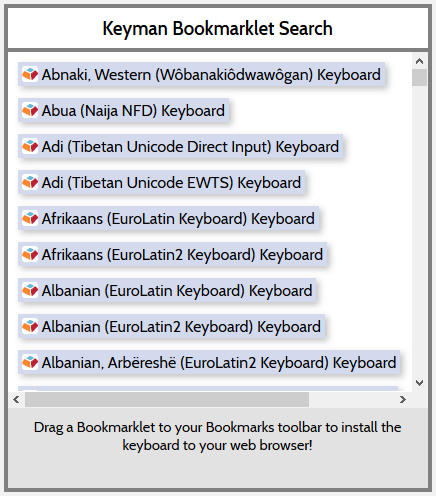 Build KeymanWeb Keyboards for the Web or Your Site